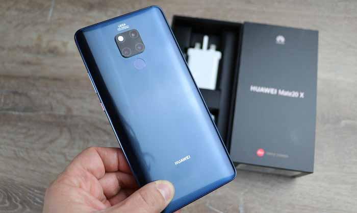 Huawei Mate 20 X kutu açılışı! Türkiye'de bir ilk!!!