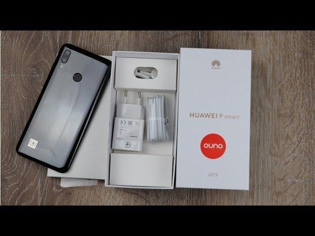 Huawei P Smart 2019 kutu açılışı! Türkiye'de bir ilk daha!!!