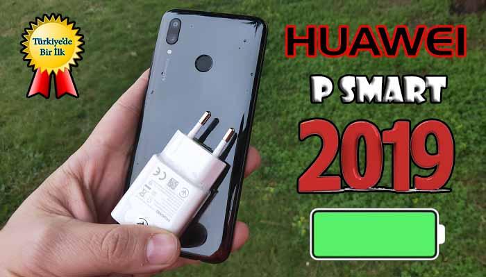 Huawei P Smart 2019 pil testi! Almadan önce izlenmeli!