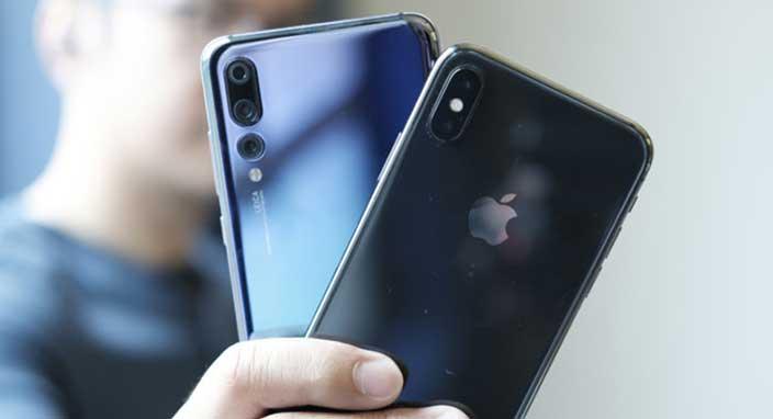 Bir skandal daha! Huawei yeni yıl mesajını iPhone'dan gönderdi