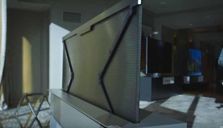 CES 2019: LG katlanabilir ekranlı televizyon tanıttı! Siz telefonla uğraşın!