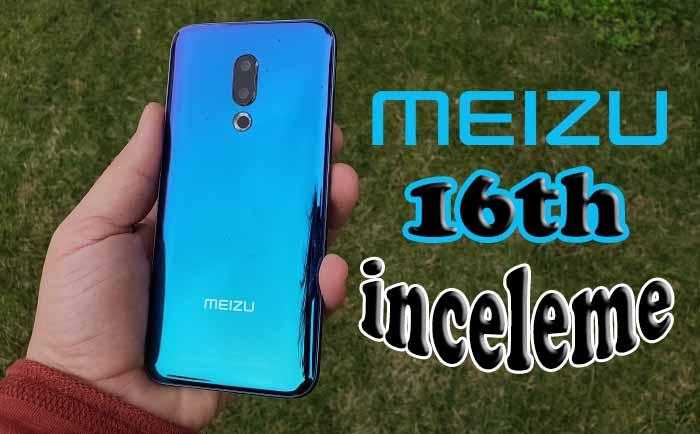 Meizu 16th inceleme! Bu fiyata bu telefon! Şaka gibi ama değil!