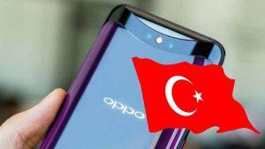 Oppo Find X Türkiye