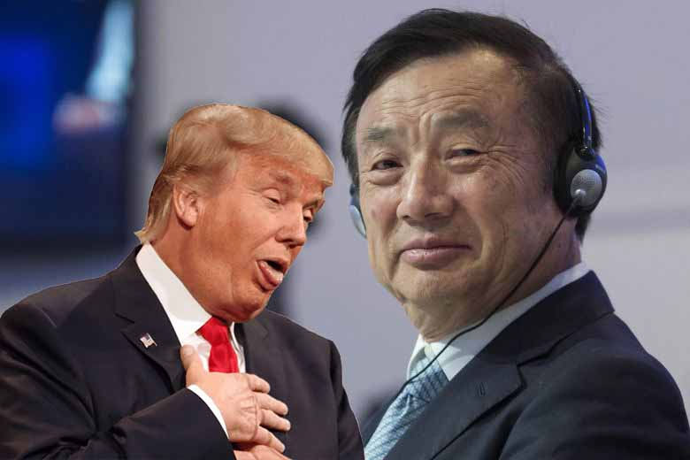 "Komünist partili Huawei CEO'su Ren Zhengfei ""Trump harika bir Başkan"" dedi!"
