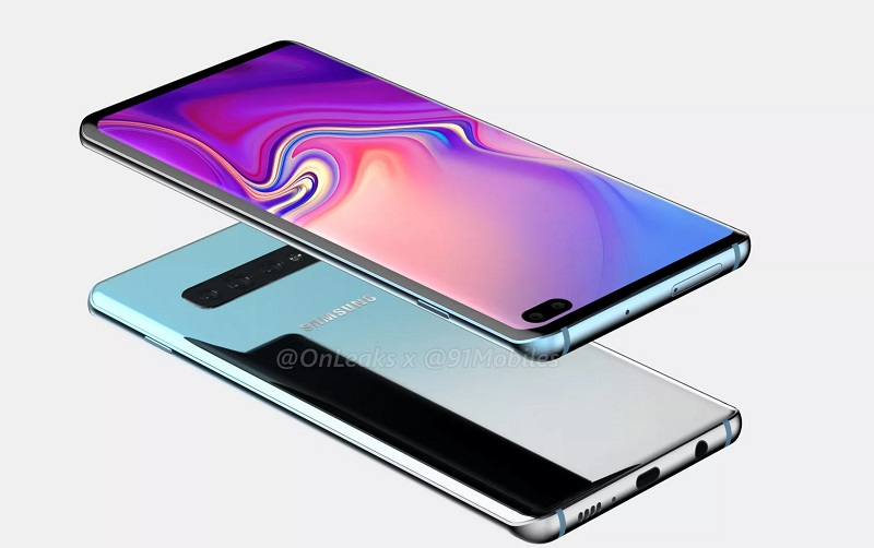 Samsung Galaxy S10 Plus resmen görüntülendi! Cidden çok iyi!!!