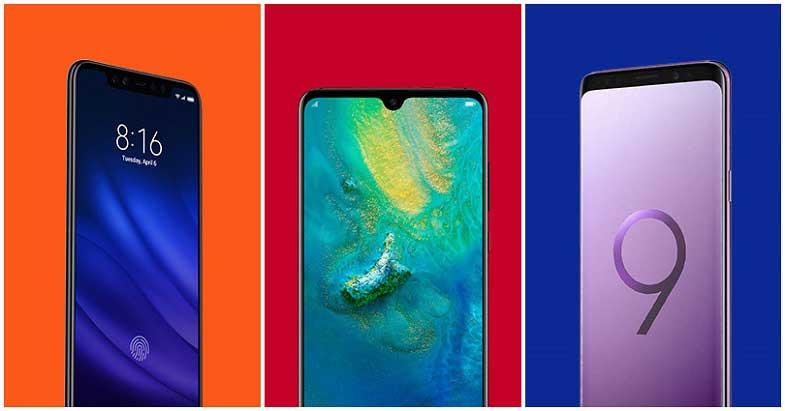 2018'de hangi üretici kaç telefon duyurusu gerçekleştirdi?