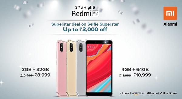 Xiaomi Redmi Y2 126 dolar fiyatı ile pazarı yerle bir edecek!