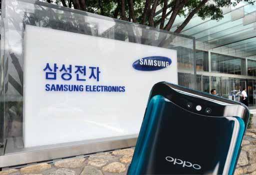 Samsung Galaxy A90 Oppo tasarımına sahip olacak! Aklın yolu 1!