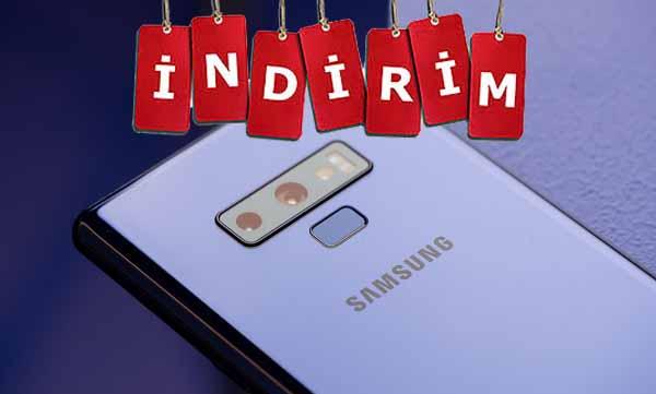 Samsung Galaxy Note 9 indirim fırtınası başladı! Yok böyle bir fiyat!
