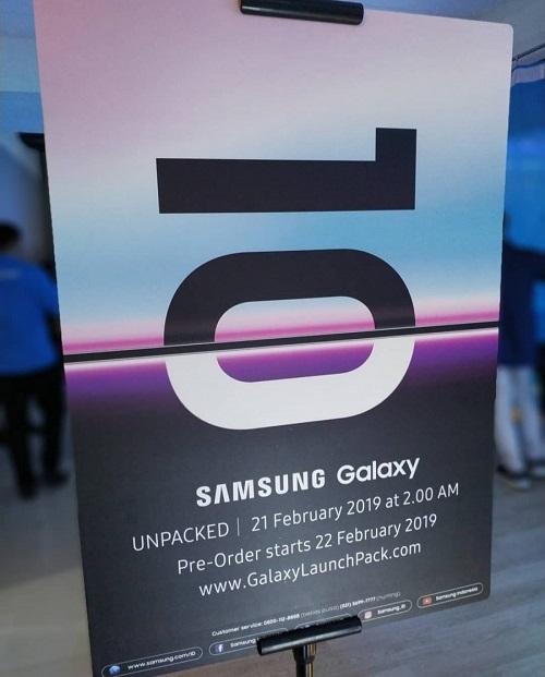 Galaxy S10 ön sipariş tarihi