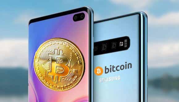 Samsung Galaxy S10 Bitcoin cüzdanı ile geliyor! Sanal paracılar, güvendesiniz!