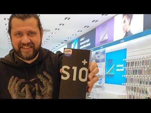 Samsung Mağazasında Galaxy S10 Plus Kutu Açılışı