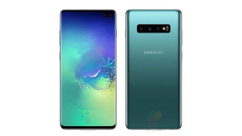 Samsung Galaxy S10'un sızan duvar kağıdını indirin!