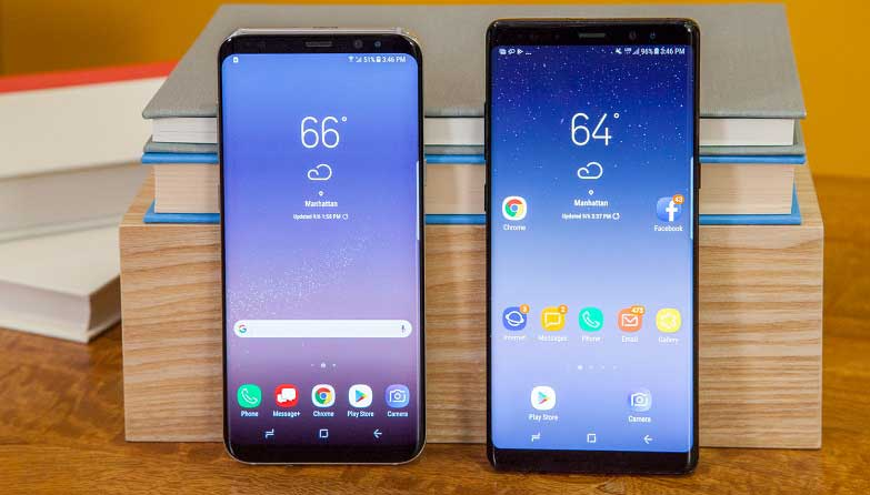 Galaxy Note 8 ve Galaxy S8 Android 9 Pie güncellemesi ertelendi