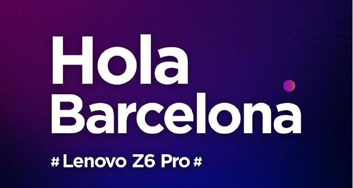 Lenovo Z6 Pro MWC2019 etkinliğinde tanıtılacak! Lenovo iddialı!