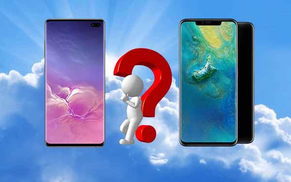 8499 TL'ye Huawei Mate 20 Pro mu? 7499 TL'ye Samsung Galaxy S10 Plus mı?