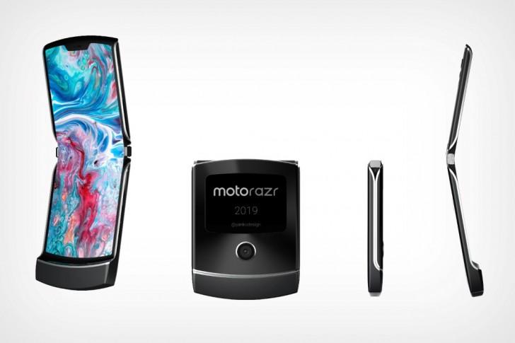 Katlanabilir telefon böyle olur! Moto RAZR 2019 ortaya çıktı!