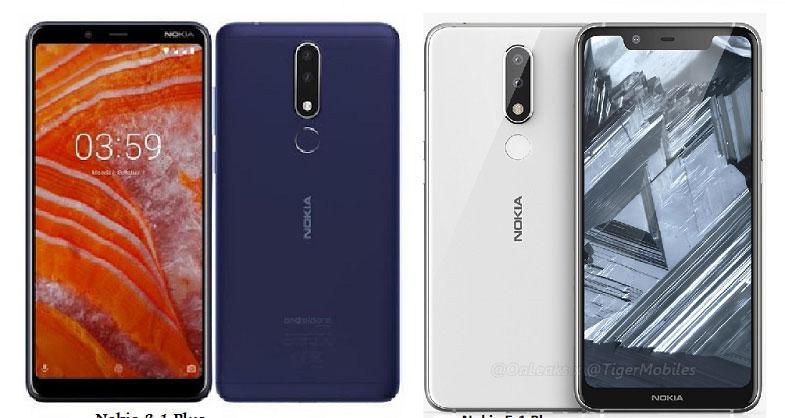 Nokia 5.1 Plus ve Nokia 3.1 Plus Türkiye'de satışa sunuluyor