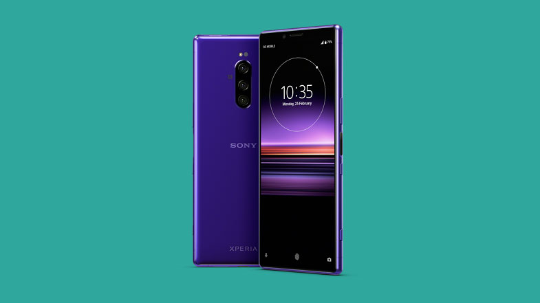 Dünyanın 4K OLED ekranlı ilk telefonu Sony Xperia 1 tanıtıldı