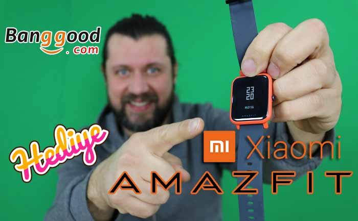 Hediyeli Xiaomi Amazfit inceleme! Kazanmak çok basit! #Amazfit