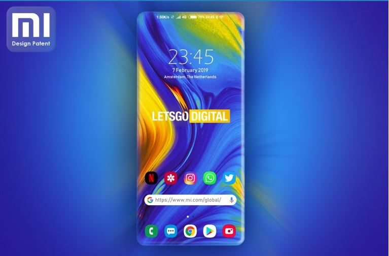 Xiaomi çerçevesiz ekran tasarımına yeni bir boyut kazandırıyor