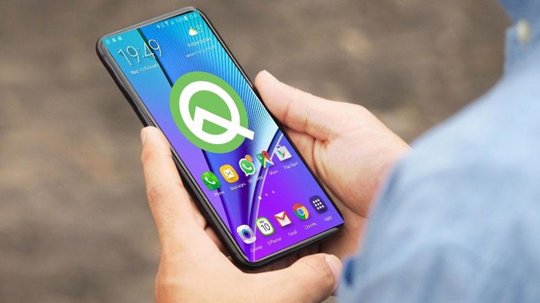 Android Q duvar kağıtları ve zil seslerini indirin!