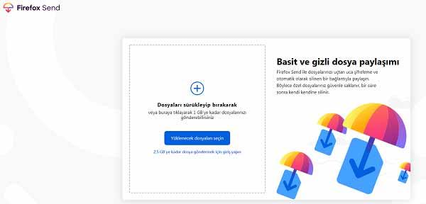 Firefox Send