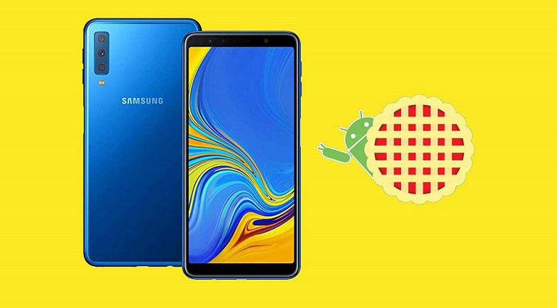 Galaxy A7 2018 Android 9 Pie güncellemesi başladı