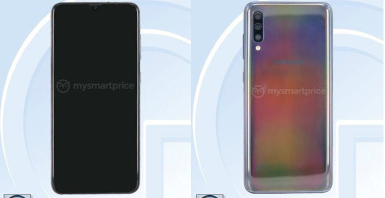 Üç arka kameralı Galaxy A60 ve Galaxy A70 göründü!