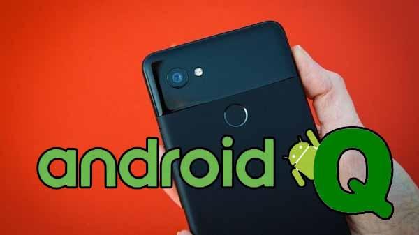 Google Pixel 2 Android Q ile göründü!