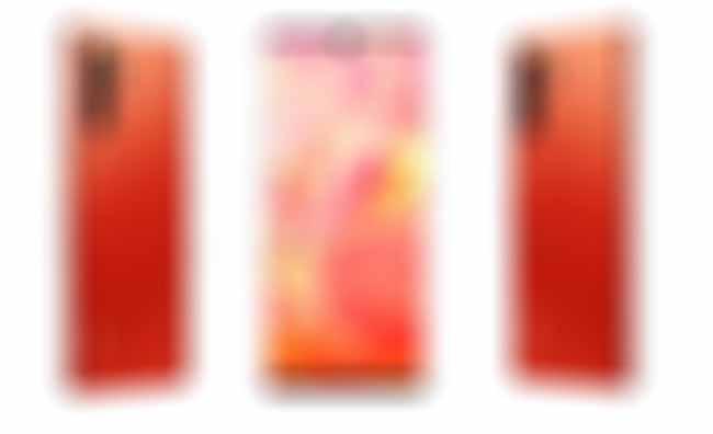 Huawei P30 kırmızı rengi ile çok seksi!