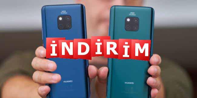 Huawei Mate 20 Pro Galaxy S10 Plus'tan daha ucuz oldu! Demek oluyormuş!