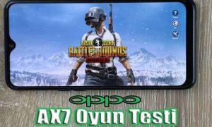 Oppo AX7 oyun