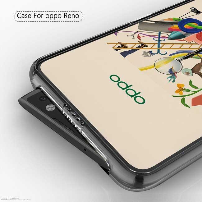 Oppo Reno sıra dışı bir ön kameraya sahip olacak