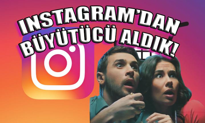 Instagram'dan büyütücü aldık! Siz almayın!!!