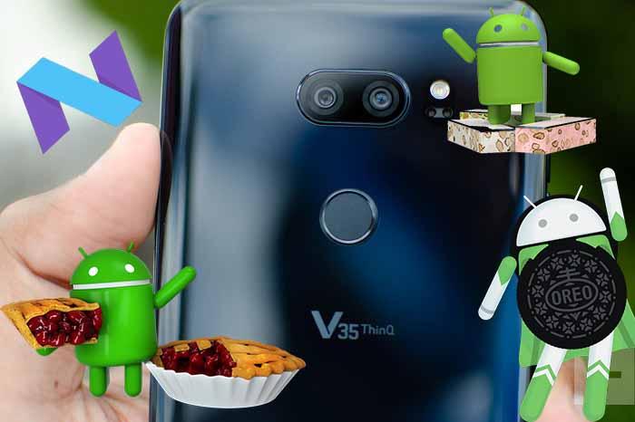 Alamaz diyorlardı ama aldı! LG V35 Android Pie müjdesi!
