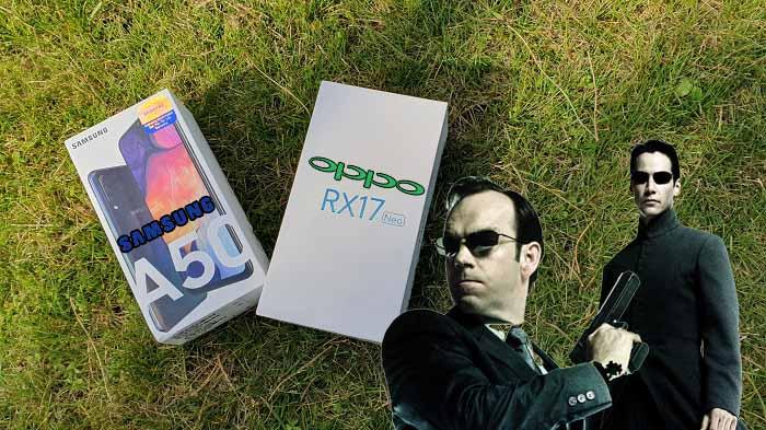 Oppo RX17 Neo ve Galaxy A50 karşılaştırma! Her soruya cevap bulacaksınız!