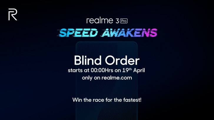 Realme 3 Pro tanıtılmadan ön siparişe açıldı! Çinliler hepten çıldırdı!