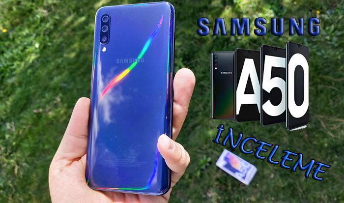 Samsung Galaxy A50 inceleme! [Eyyamsız]