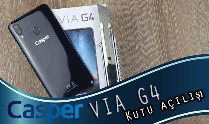 Casper VIA G4 kutu açılışı! Tüm eleştirilerimiz giderilmiş!