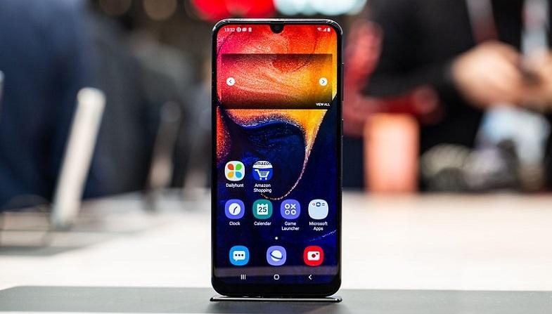 Samsung Galaxy A50 için bir güncelleme daha!