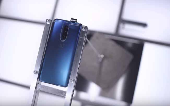OnePlus 7 Pro ön kamerası ile 22,3 kilo kaldırdı!