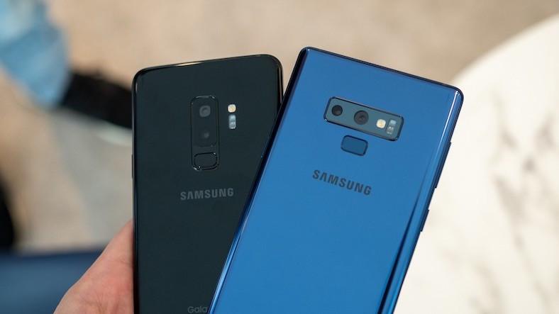 Galaxy S9 Plus / S9 ve Galaxy Note 9 için mayıs güncellemesi başladı