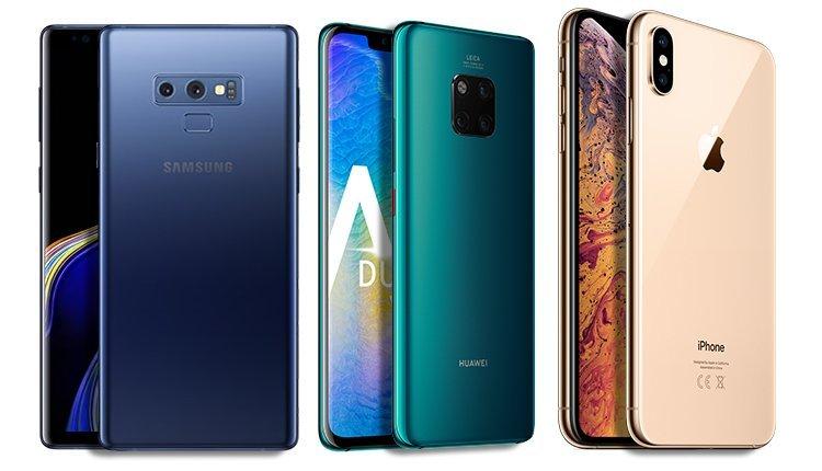 Samsung Huawei ve Apple rekabeti kızışıyor! Satış rakamları açıklandı