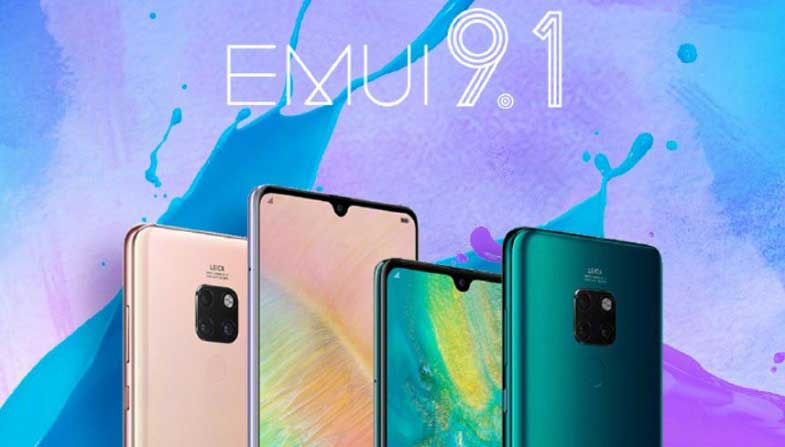 Huawei EMUI 9.1 güncellemesi alacak birçok telefon açıklandı