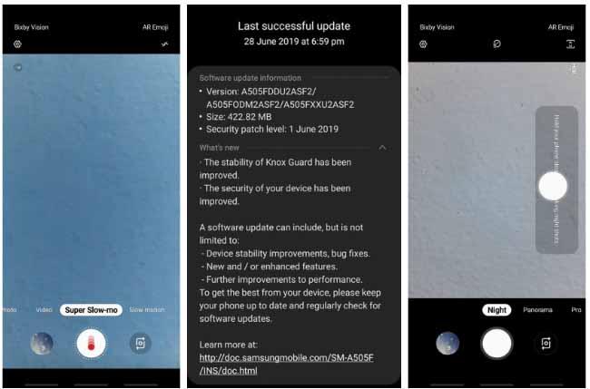 Galaxy A50 yeni güncellemesi ile ilgili görsel sonucu