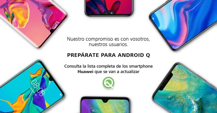 Ve Huawei Mate 10 Pro Android Q güncellemesi…