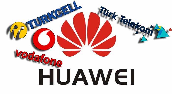 Turkcell, Vodafone ve Türk Telekom Huawei ile yola devam edecek mi?