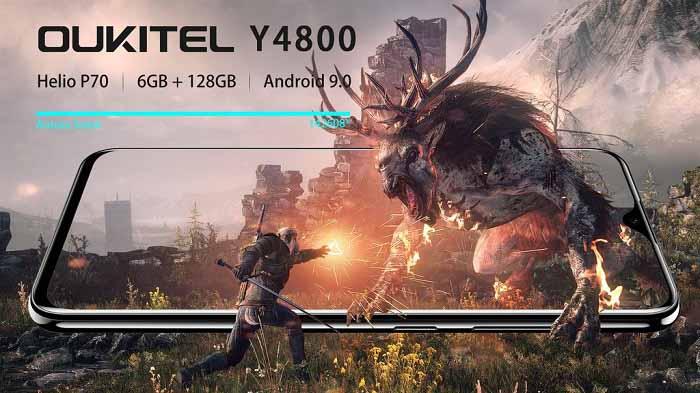 OUKITEL Y4800 Xiaomi Redmi Note 7'yi silmeye geliyor!