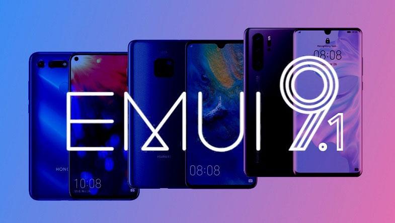 Yaz döneminde EMUI 9.1 güncellemesi alacak Huawei / Honor telefonlar